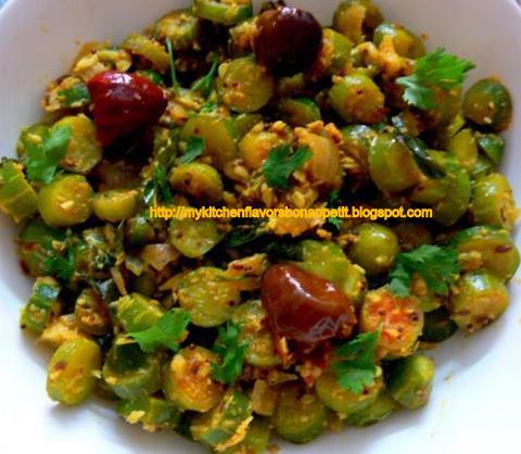Ivy Gourd Stir Fry-Ivy gourd stir fried with spices
