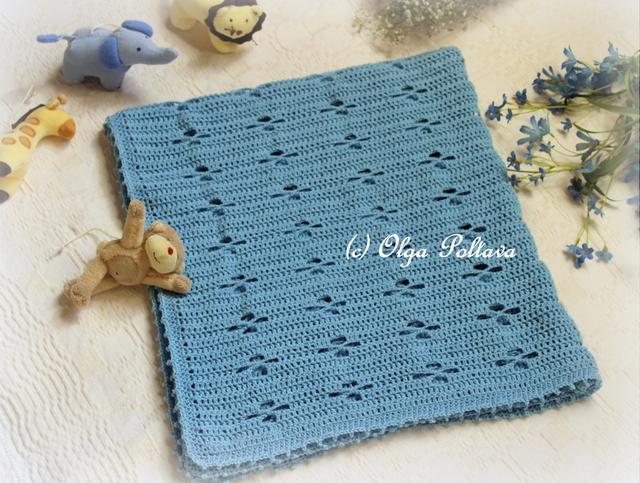 Crochet Patterns For Children s Blankets : Lacy Crochet: December 2015