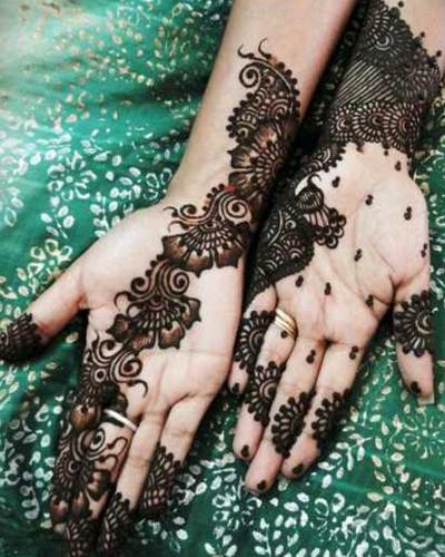 Nice Mehndi Patterns : Beautiful eid collection for girls best mehndi designs