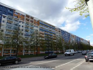 Plattenbau,Heinrich-Heine Straße, berlin