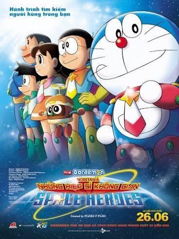 Nobita Và Những Hiệp Sĩ Không Gian - Doraemon: Nobita And The Space Heroes