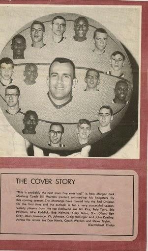 MPHS Basketball 1965