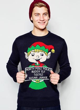 Jerseys navideños de hombre