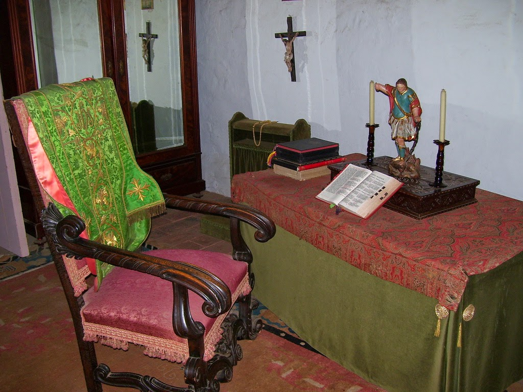 Casa de Estudillo Priest's Room