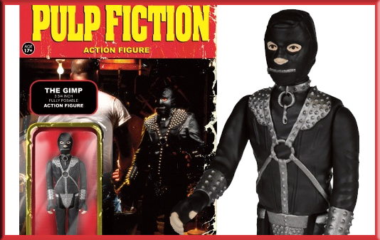 Pulp Fiction Gimp ReAction figure