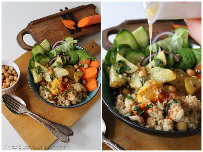 veganer Salat