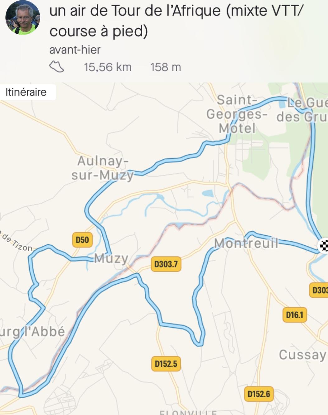 Parcours confinement Maratouristes