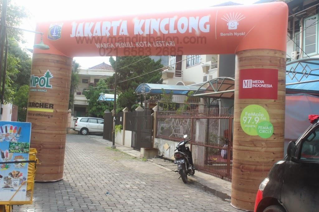 Gapura Balon Jakarta Kinclong