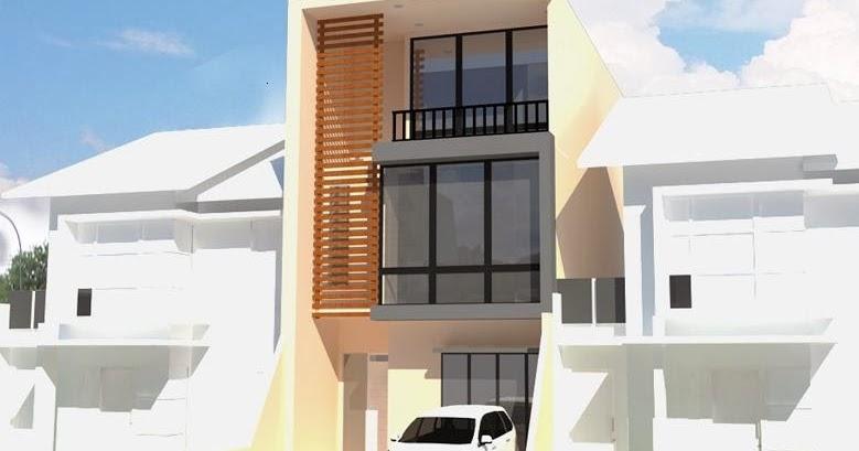 jasa desain gambar murah desain rumah 3 lantai 4 kamar