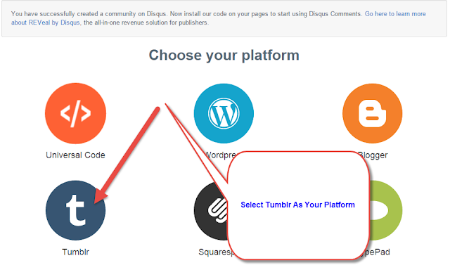 How To Add Disqus Commenting System In To Your Tumblr Blog