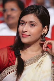 Actress Barbie Chopra Picture Gallery in Saree at Prema Geema Jantha Nai Movie Audio Launch Function 0035