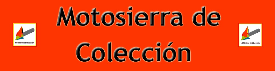 Motosierra De Colección