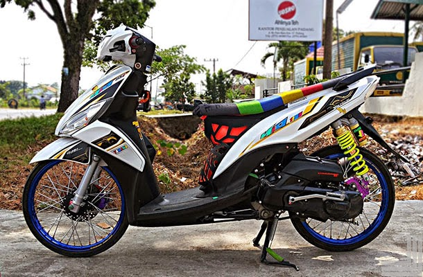 referensi modifikasi mio j sporty