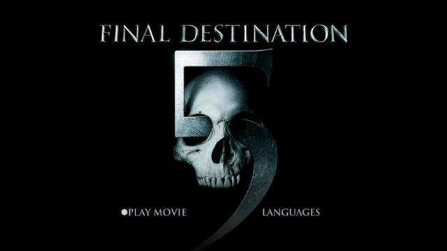 Destino Final 5 [Final Destination 5] 2011 DVDR Menu Full Español Latino ISO Descargar NTSC
