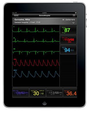 AirStrip Technologies iPad
