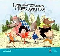 ¡Una nena, dos lobos y tres cerditos!