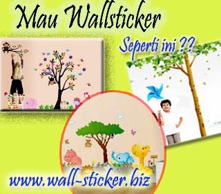wall-sticker murah di Jogja