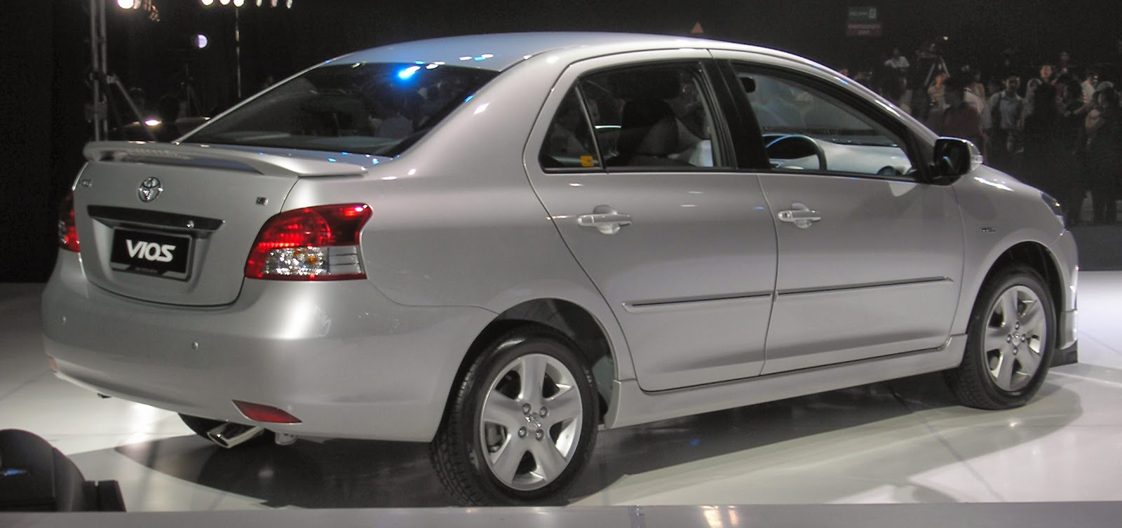 Toyota Belta / Vios / Yaris Rear View