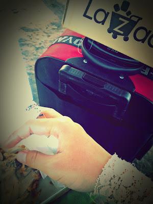 kfc luggage polo kotak lazada