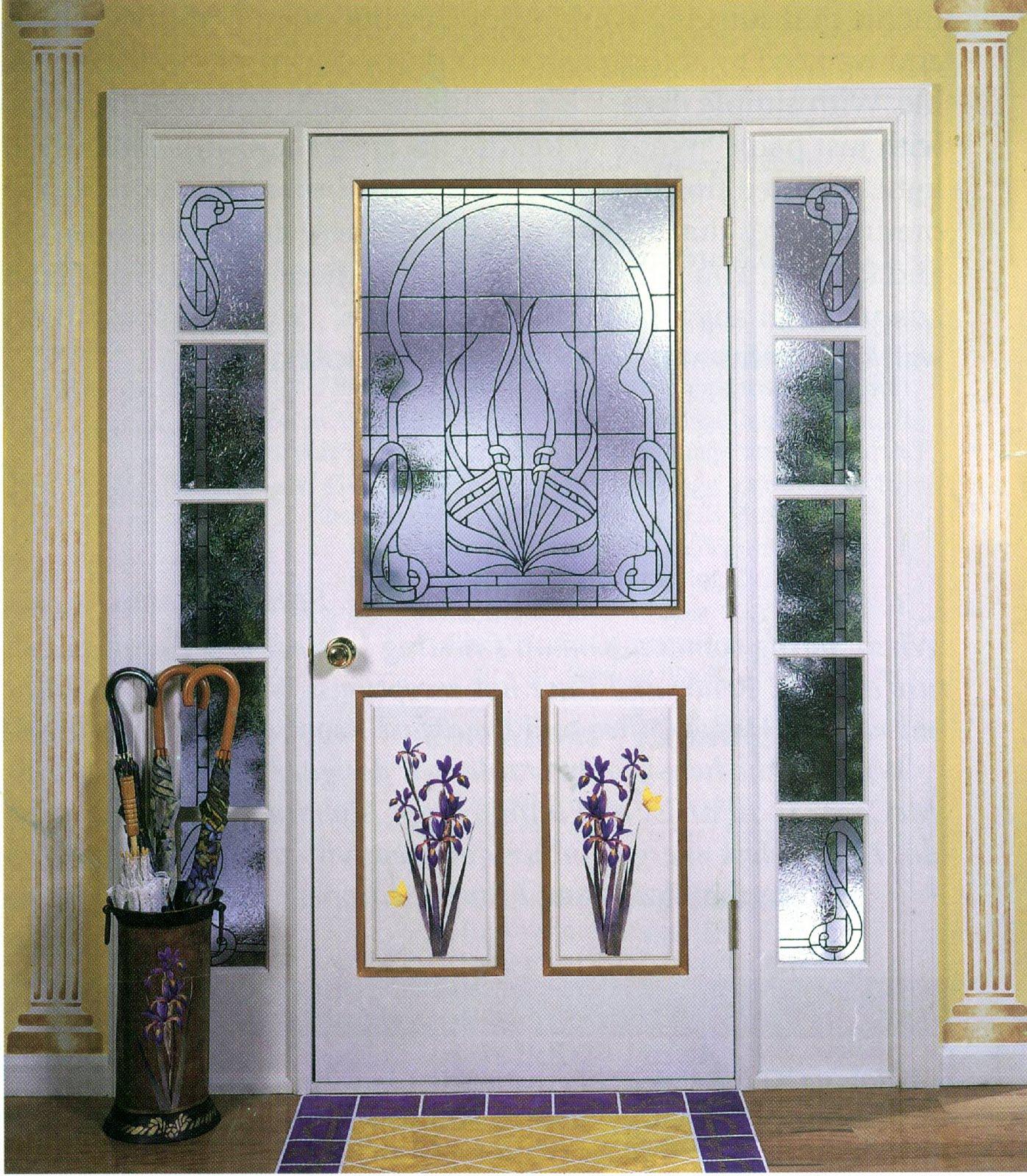 Gallery Glass Class: Speaking of Irises and Doorways--