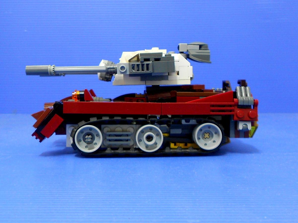 Как сделать из лего трансформер танк