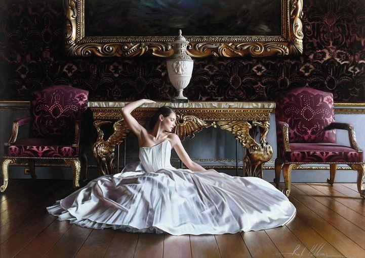 Фотореалистичные картины элегантного Невеста