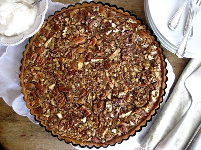 Bourbon & Maple Pecan Pie