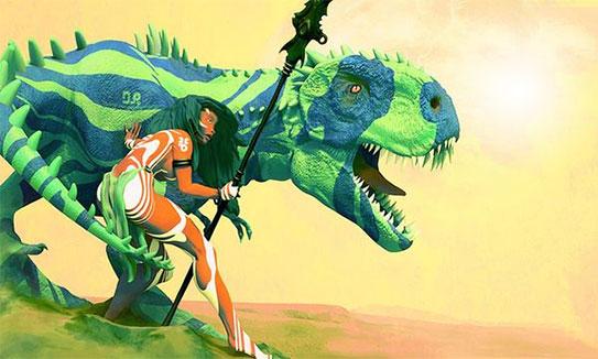 Des dinosaures et des hommes en même temps ?