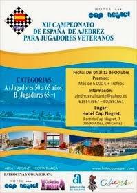 XII Campeonato de España de Veteranos 2.014