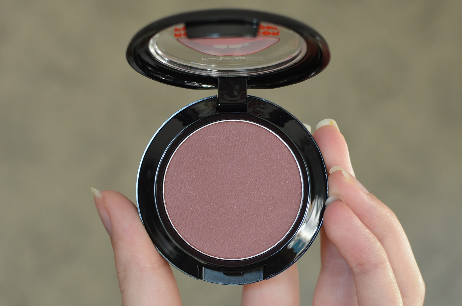 Crazed Imagination blush from the MAC Rocky Horror collection