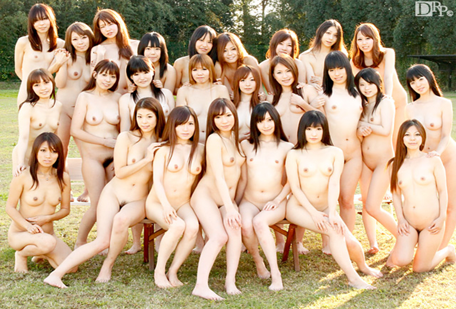 Cute girl group naked
