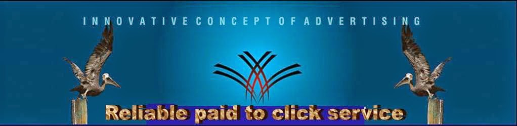Reliable paid to click service