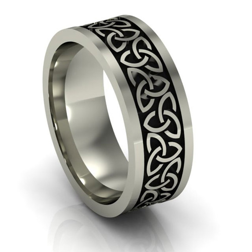 Laura Deluca Celtic Wedding Rings Review Giveaway