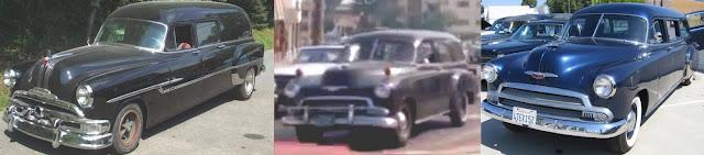 Pontiac und Chevrolette hearse