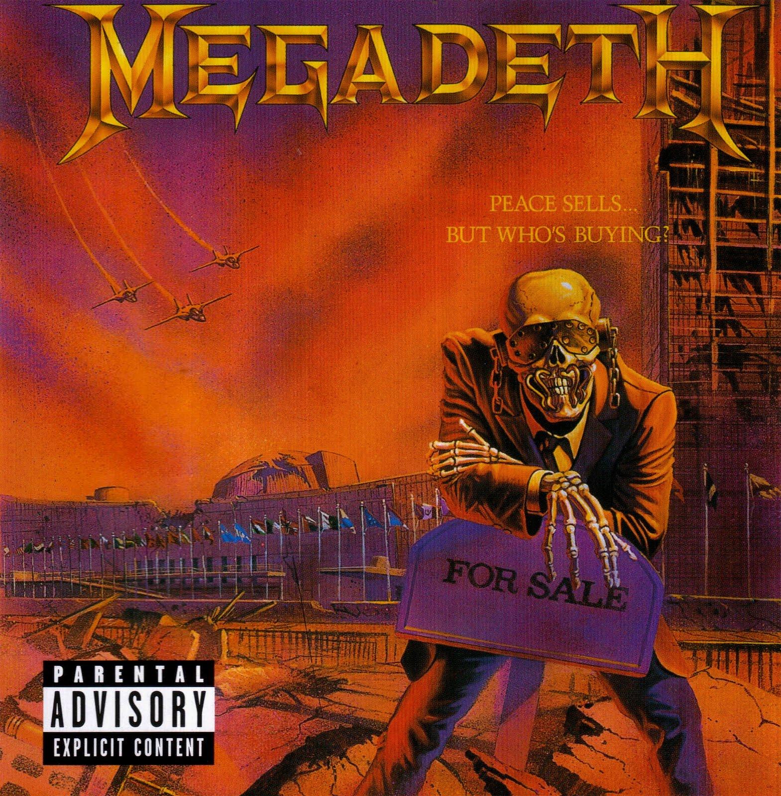 Breve Historia y Discografia de Megadeth (Completa)