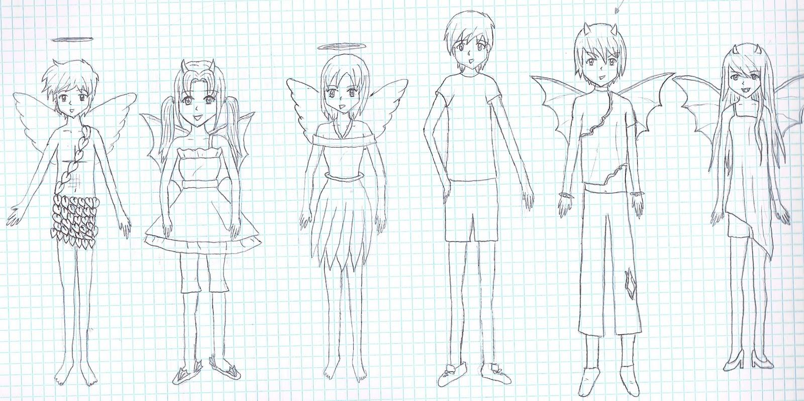 Único Dibujos De ángeles Azules Para Colorear Patrón - Enmarcado ...