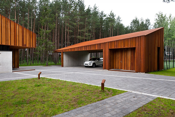 Lithuania luxury villa