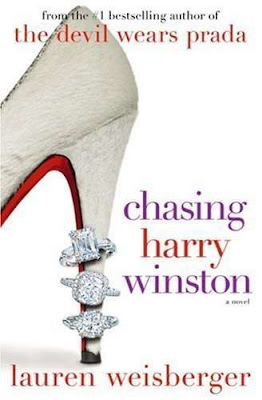 chasing harry winston, harry winston, novel, book, reading, barnes and noble, lauren weisberger