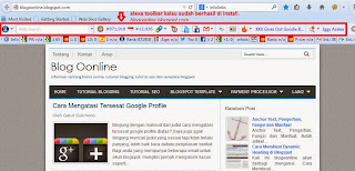 cara install alexa toolbar di browser
