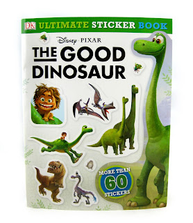 the good dinosaur ultimate sticker book