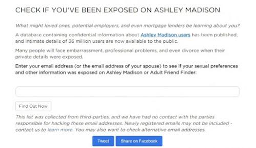 Como descobrir se seus dados no Ashley Madison foram expostos