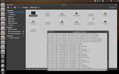 Atolm Theme Ubuntu Natty