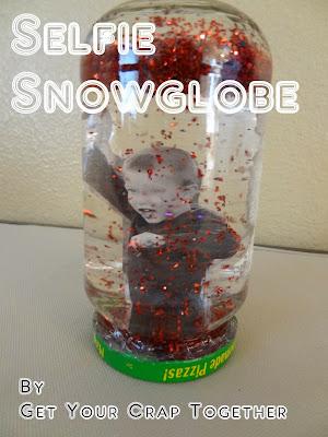 Selfie Snowglobe Craft