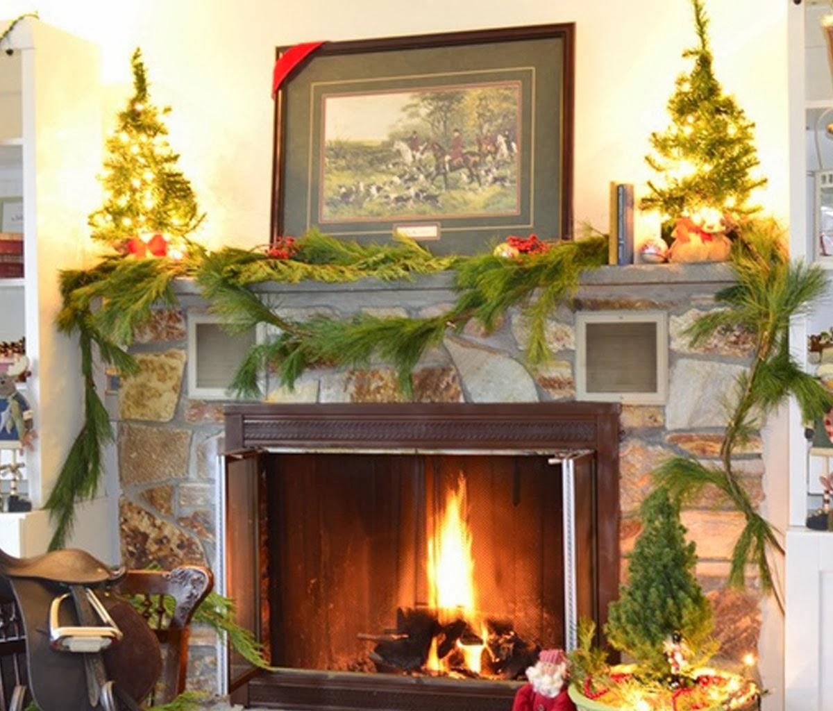 Decoracion de chimeneas para navidad parte 5 - Decoracion para chimeneas ...