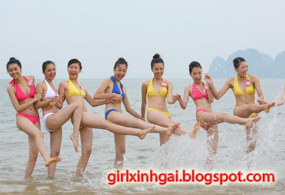 Hoa khôi áo tắm, miss bikini Vietnam, hình ảnh girl xinh bikini 13