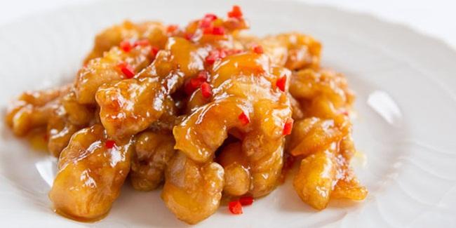 Babi Goreng Saus Lemon