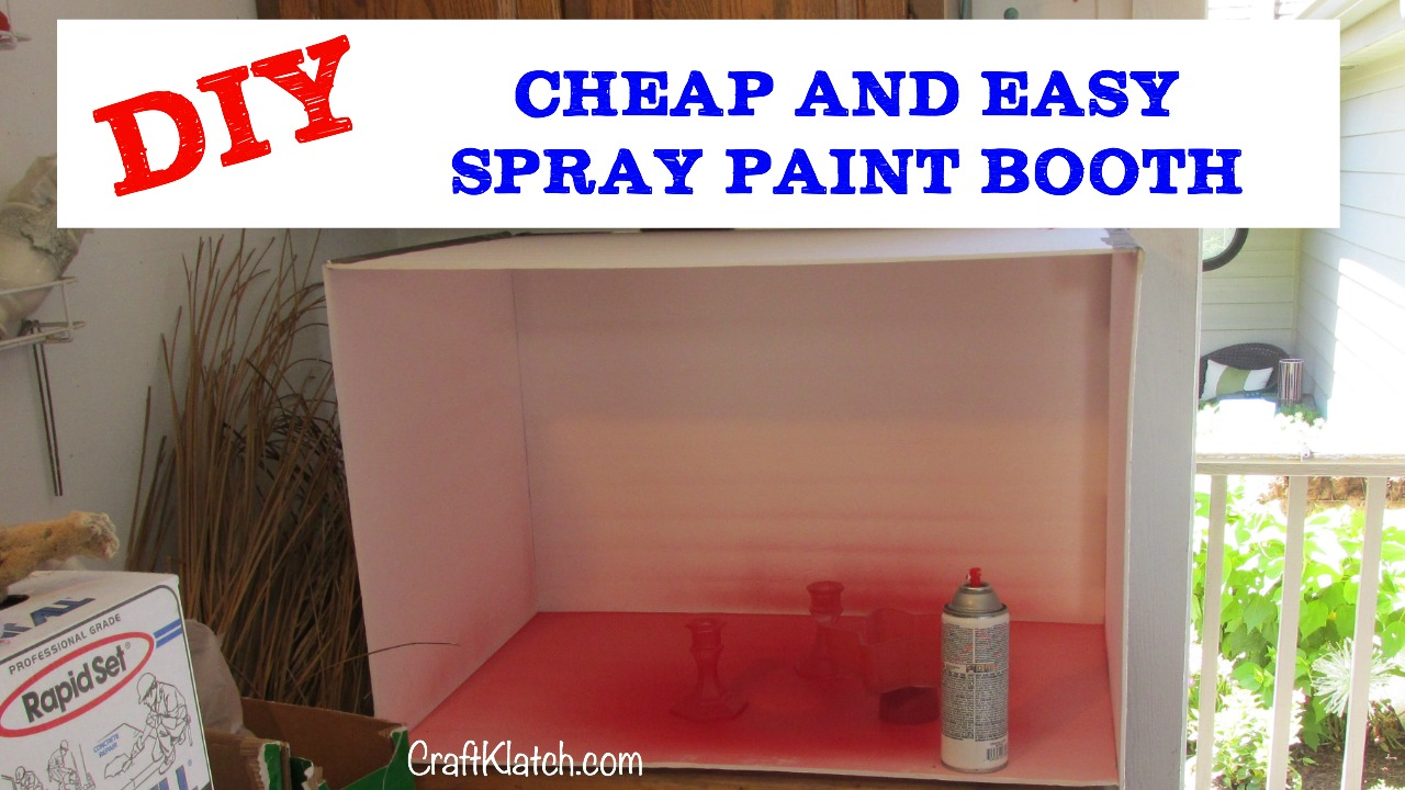 spray paint spray paint booth paint booth how to make how to make. Black Bedroom Furniture Sets. Home Design Ideas