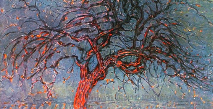 De rode boom van Piet