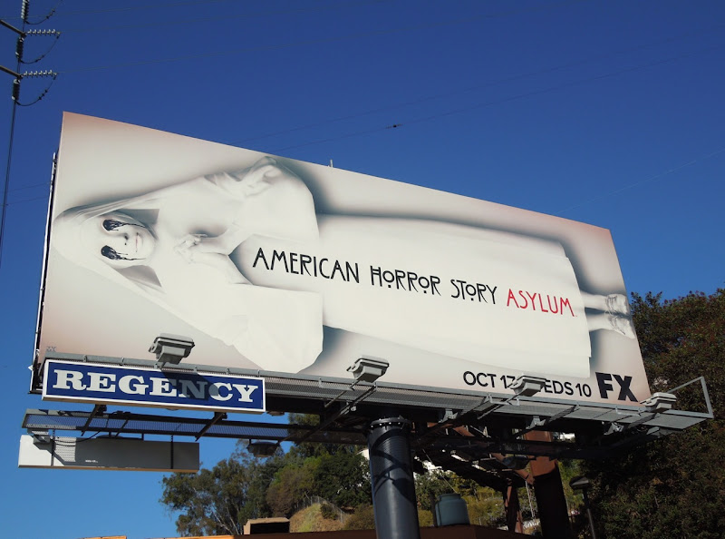 American Horror Story Asylum season 2 billboard