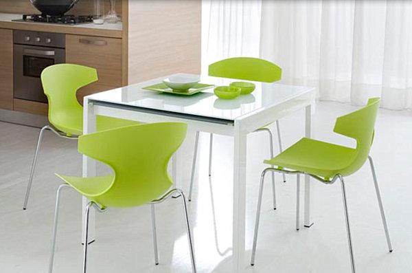 Mesas y sillas de cocina impresionantes para un hogar for Sillas para cocina precios